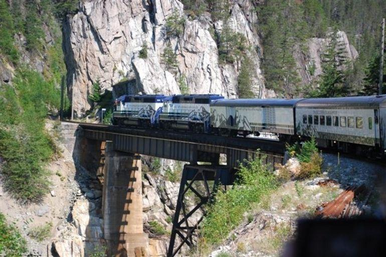 Whistler Mountaineer Train - Vancouver