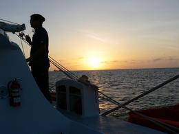 Photo of Aruba Aruba Sunset Catamaran Cruise A vigilant eye