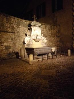 Photo of Rome Ghost and Mystery Walking Tour of Rome Champagne fountain