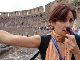 Photo of Rome Skip the Line: Ancient Rome and Colosseum Half-Day Walking Tour Colosseum tourguide