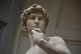 Photo of the real David inside the Accademia, where photos are now allowed , philip_x_allen - August 2014