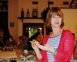 Photo of Florence Florence Cooking Class: Learn How to Make Gelato and Pizza Eating the pizza!
