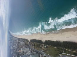 Helicopter ride over the Gold Coast. , Clare M - August 2014
