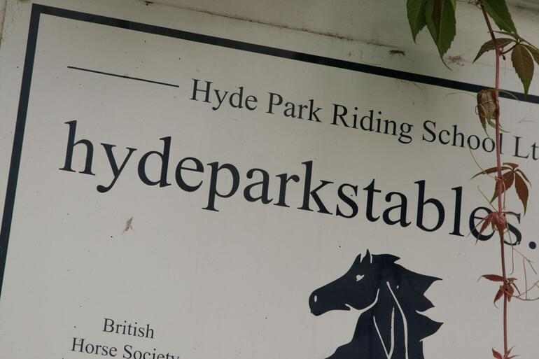 Horse Riding in Hyde Park - London