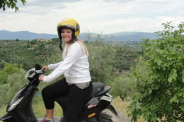 Photo of Florence Vespa Small Group Day Trip to the Chianti Wine Region In the countryside