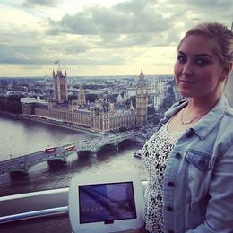 Me in London Eye it was great! , Dagný V - September 2014