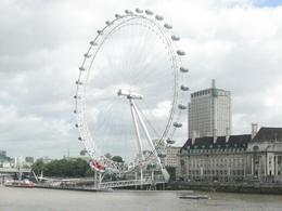 London eye viewed from Westminster Bridge, Denis S - October 2010