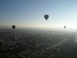 Photo of Mexico City Teotihuacan Pyramids Hot-Air Balloon Tour Lots of Balloons!