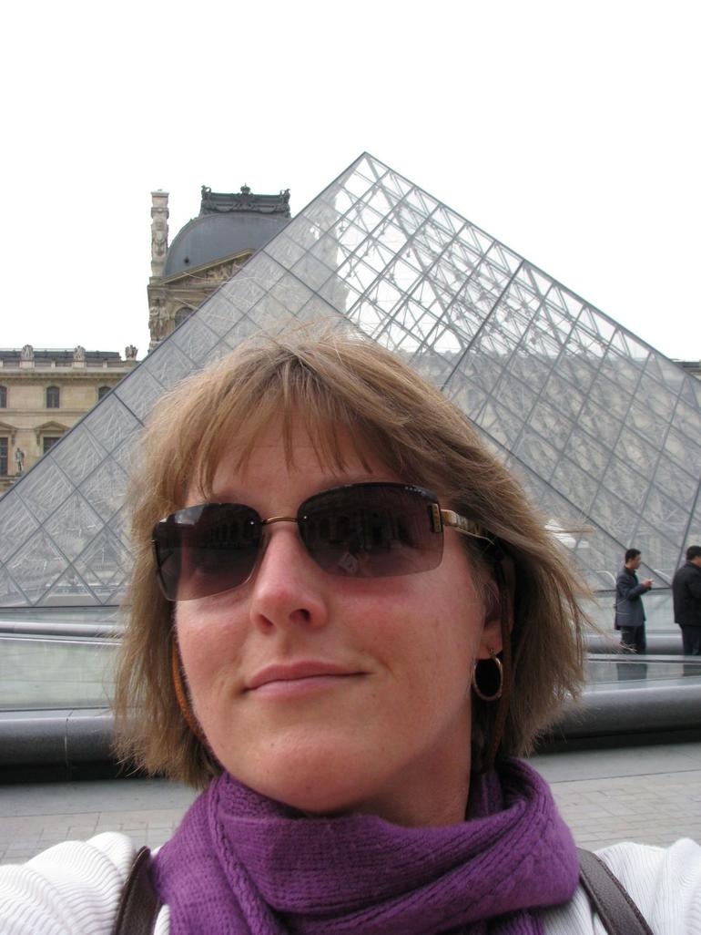 Me by the Louvre - Paris