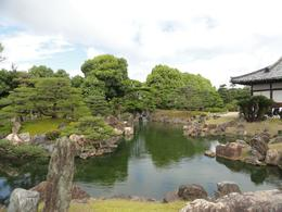 Beautiful garden of Nijo Castle, Kyoto. - June 2010