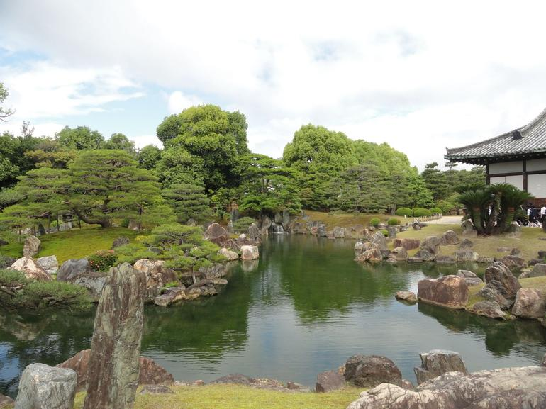 Nijo Castle garden - Kyoto