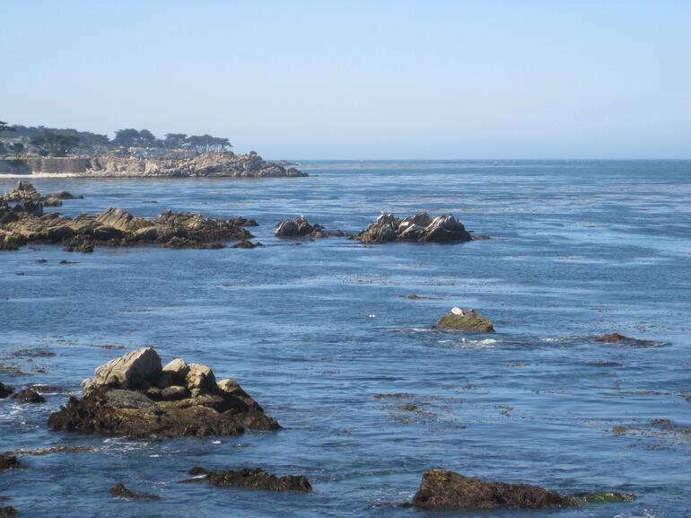 Ocean near Monterey - California