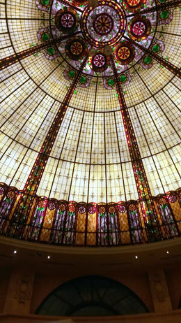 Beautiful glass ceiling - January 2015