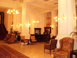 A two minute look inside the great building is all it takes to get the feel of the style and history of Raffles. Don't expect service, it's in and out !, TERRY M - April 2009