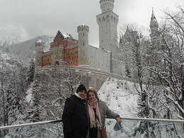 Photo of Munich Neuschwanstein Castle Small Group Day Tour from Munich Vista do castelo