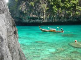 Photo of Krabi Krabi to Phi Phi Islands by Speedboat A quiet cove.