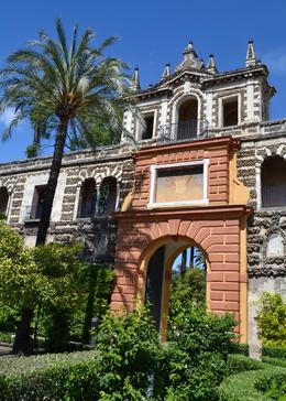 Gate to the Real Alcazar - June 2012