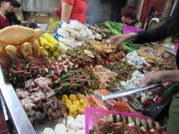 Some of the delicious food on offer. , Diana W - December 2014