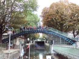 Photo of Paris Seine River Cruise and Paris Canals Tour Bridge above the Locks
