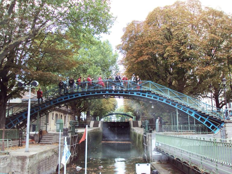 Bridge above the Locks - Paris