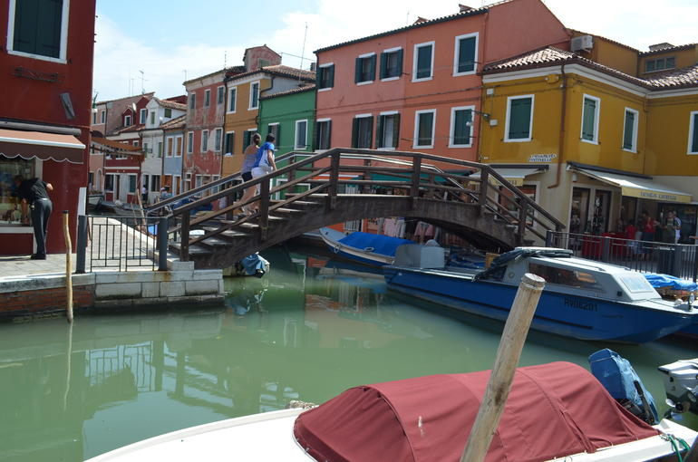 Bridge in town centre - Venice