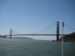 Headed for the Golden Gate Bridge. - April 2008