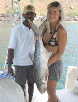 The fishing trip was a success! - September 2012
