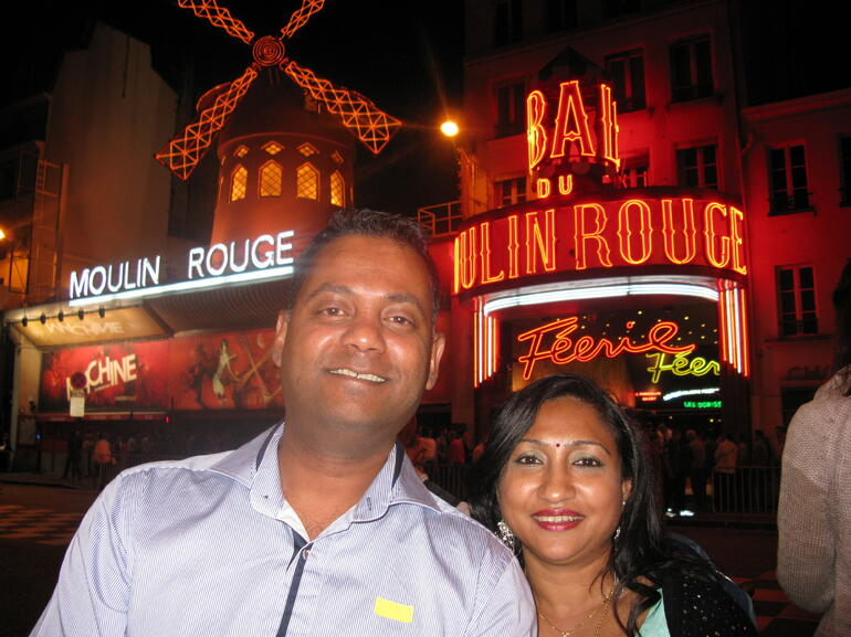 In Moulin Rouge - Paris