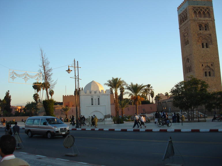 Koutoubia Mosque and Minaret - Marrakech