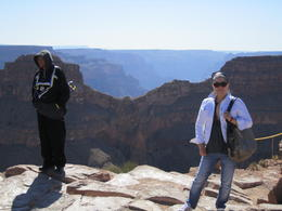 Photo of Las Vegas Grand Canyon West Rim Air and Ground Day Trip from Las Vegas with Optional Skywalk My Mom at Eagle Point!