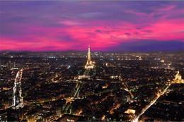 Photo of Paris Montparnasse Tower 56th Floor Observation Deck Paris at dusk
