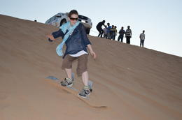Was so pleased that I finally got to try sandboarding! , GEMMA C - November 2012
