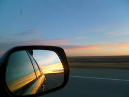 Photo of   Sunset on the Road to Oklahoma