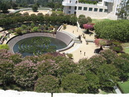 Photo of Los Angeles The Getty Center Round-Trip Transport from Los Angeles the garden