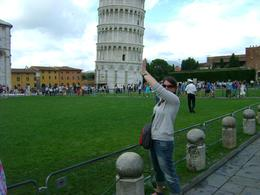 The Leaning Tower of Pisa: Cheesy, I know!, Christopher S - August 2010
