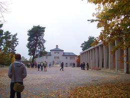 Photo of Berlin Sachsenhausen Concentration Camp Memorial Walking Tour Approach to main camp gate.
