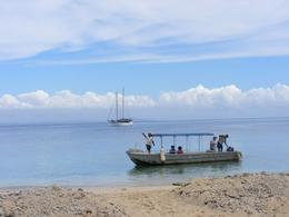 Photo of Fiji Fijian Islands and Snorkel Full-Day Whales Tale Cruise including Beach BBQ Lunch Boats