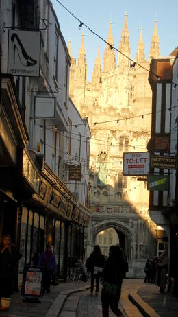 look at the Cathedral from the street , Cherny_1612 - January 2012