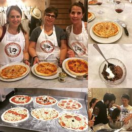 We had a great time learning how to make fresh pizza and gelato! , Karen L - May 2016
