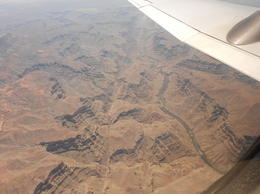 A view of the Colorado river from the plane , Jennifer B - May 2012
