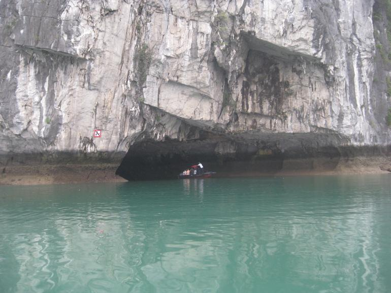 Going into the cave - Hanoi