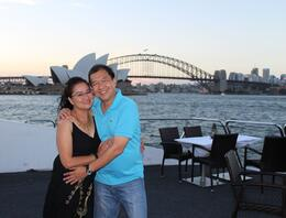 "Photo of Sydney Sydney Harbour Dinner Cruise by Catamaran ""Harbour Cruise"" couple for 2013 !!!"