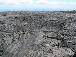 Photo of Oahu Big Island Day Trip: Volcanoes National Park from Oahu Lava flow
