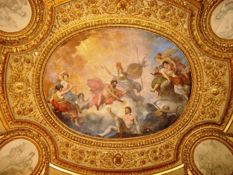 Louvre Ceiling - Paris