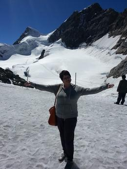 Photo of Zurich Jungfraujoch: Top of Europe Day Trip from Zurich me on the top of Europe :)