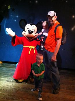 At Disneyland! - October 2011