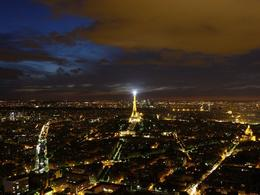 Photo of Paris Montparnasse Tower 56th Floor Observation Deck Paris at night