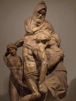 Pieta by Michlangelo at a Museum in Florence , Tsutomu U - June 2013