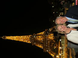 Photo of Paris Eiffel Tower Dinner and Seine River Cruise Seine Cruise at Night