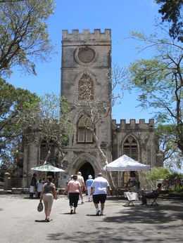 ST JOHN PARISH CHURCH BARBADOS HAS YEARS OF HISTORY THERE ARE GRAVES ON THE SITE GOING BACK CENTURY S THERE IS A GARDEN WHICH SURROUNDS THE CHURCH. THIS CHURCH IS WELL LOOKED AFTER. , Denis J F - April 2015